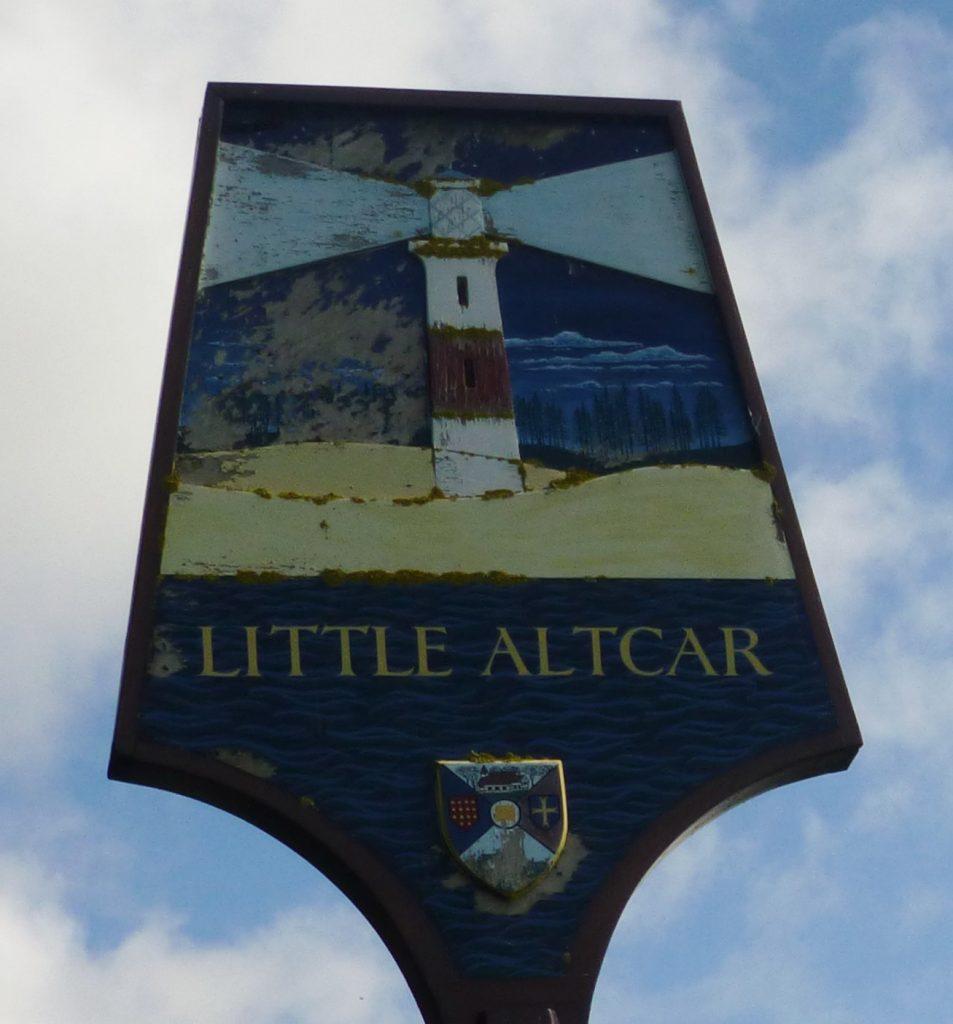 Little Altcar parish sign
